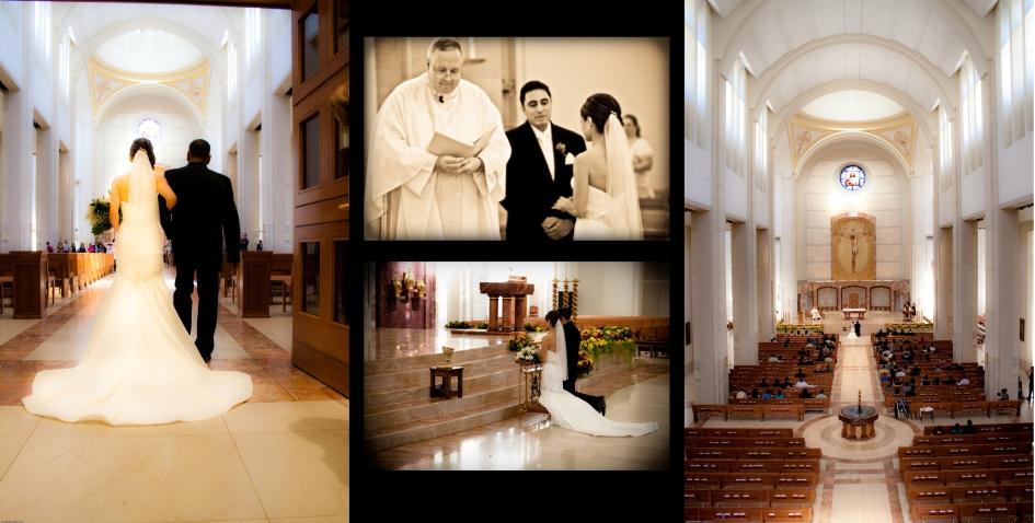 Sacred Heart, Houston Texas Wedding